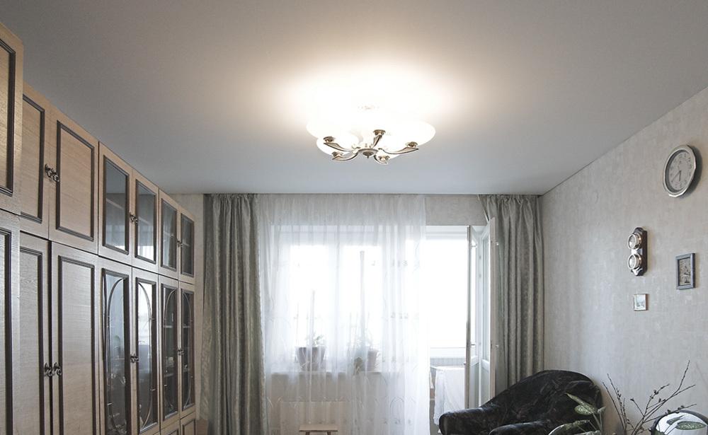 Потолок для гостиной