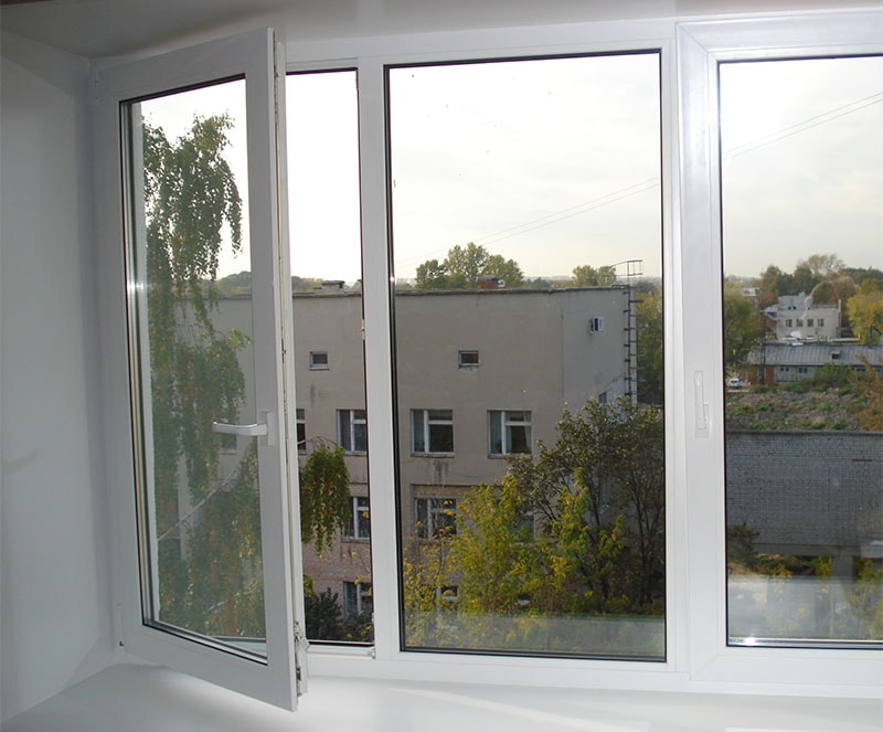 Глухое одностворчатое окно в Витебске