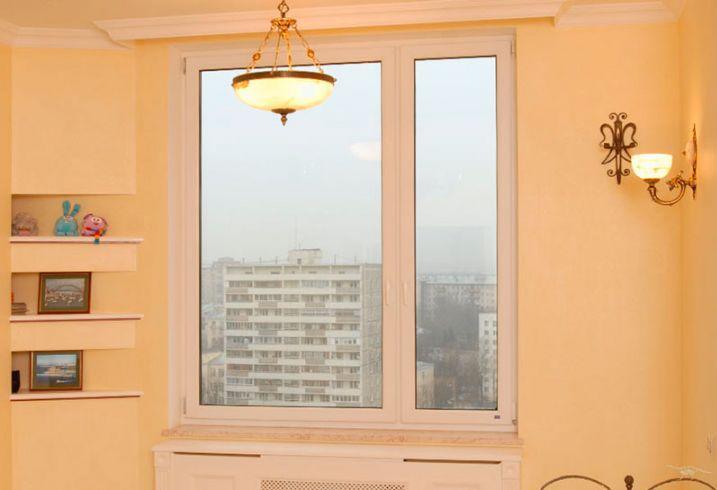 Трехстворчатое окно в Витебске
