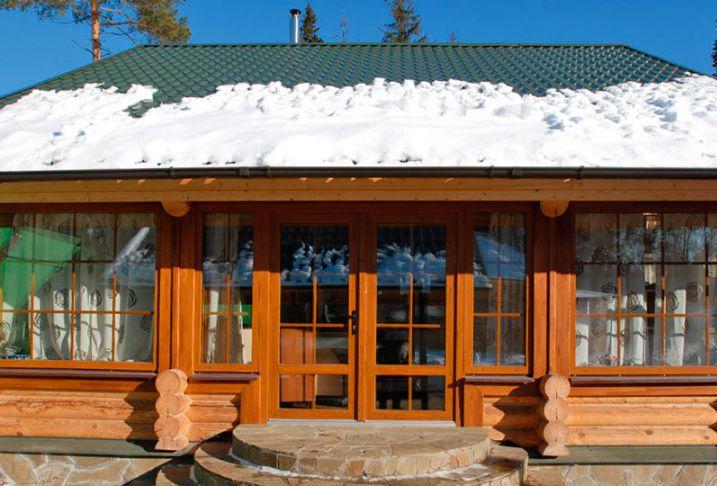 Двухстворчатое окно в Витебске