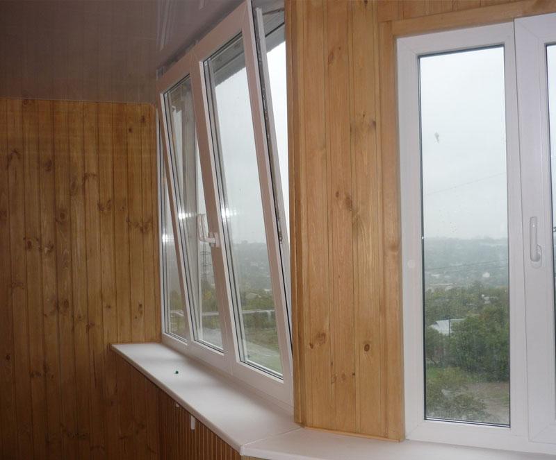 Поворотно-откидное одностворчатое окно в Витебске